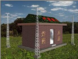 10--60米各种类型避雷塔(针)